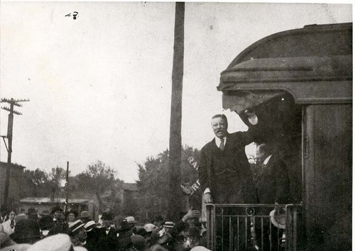 President Theodore Roosevelt at Osawatomie, Kansas - Page