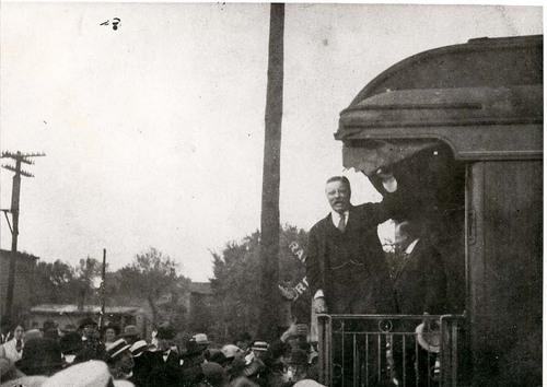 President Theodore Roosevelt at Osawatomie, Kansas - Page