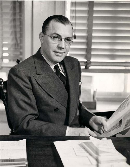 Milton Eisenhower - Page