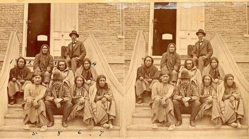 Cheyenne prisoners in Dodge City - Page