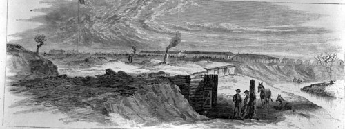 Fort  Larned, copied from Harper's Weekly - Page