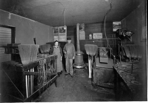 Bartel's broom shop in Hillsboro, Kansas - Page