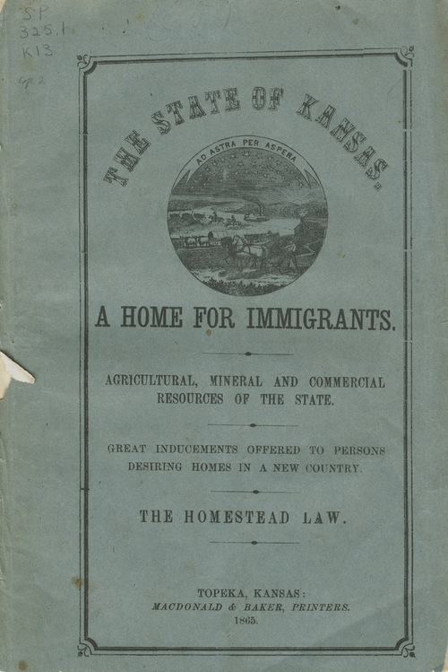 The state of Kansas: a home for immigrants - Page