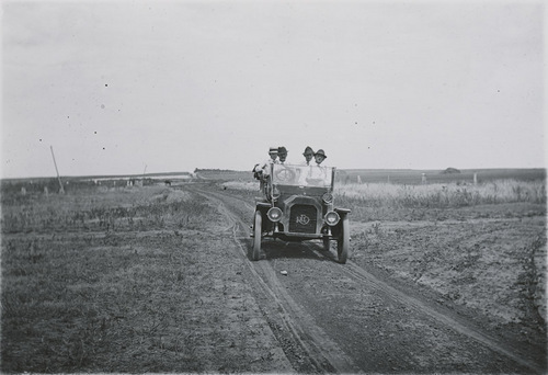 Reo automobile, Dorrance, Kansas - Page