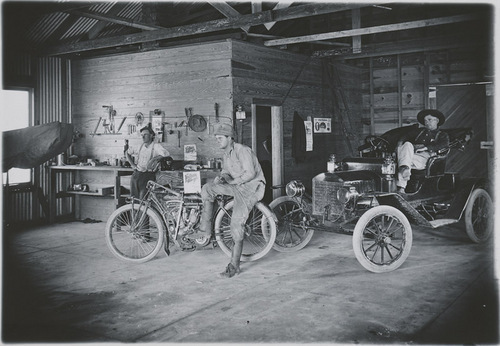Brown's Garage, Dorrance, Kansas - Page
