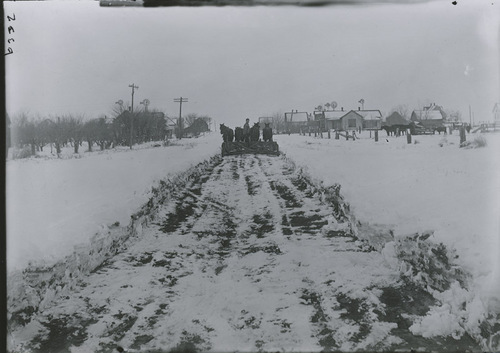 Snow plow, Dorrance, Kansas - Page