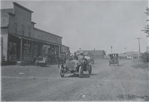 Glidden auto tour, Dorrance, Kansas - Page