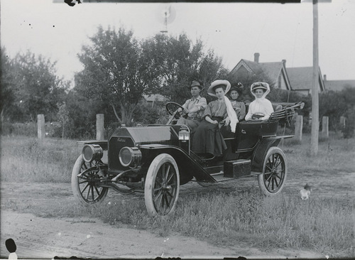 Moline automobile, Dorrance, Kansas - Page