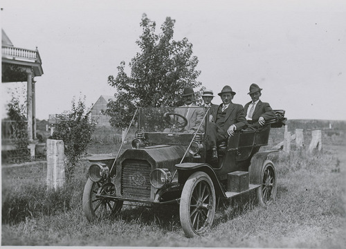 Phil Thielen's Reo automobile, Dorrance, Kansas - Page
