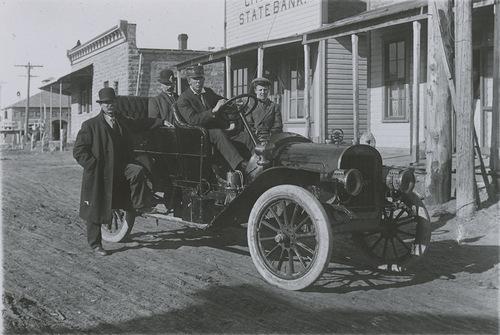 McAdam's Rambler automobile, Dorrance, Russell County, Kansas - Page
