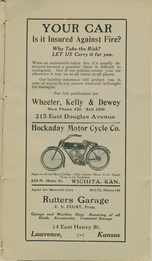 Hockaday Motor Cycle Company - Page