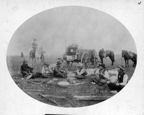 Irwin Brothers' chuck wagon near Ashland, Kansas - Page
