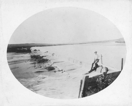 C. D. Perry's dam on the Cimarron River, Kansas - Page
