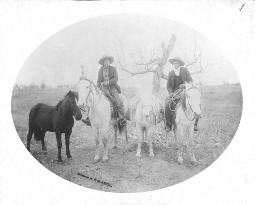Cowboys in Beaver County, Oklahoma Territory - Page