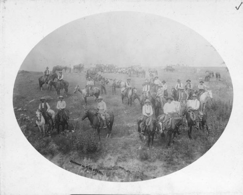 Cowboys on the Salt Fork in Barber County, Kansas - Page