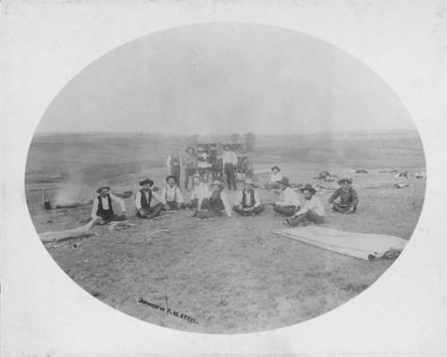 B. R. Grimes' mess wagon, Ashland, Kansas - Page