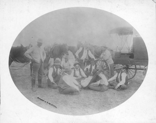 Lindley Dakin injured in a riding accident, Ashland, Kansas - Page