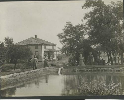 John Jacob Miller home and underground water line, Santa Fe, Kansas - Page