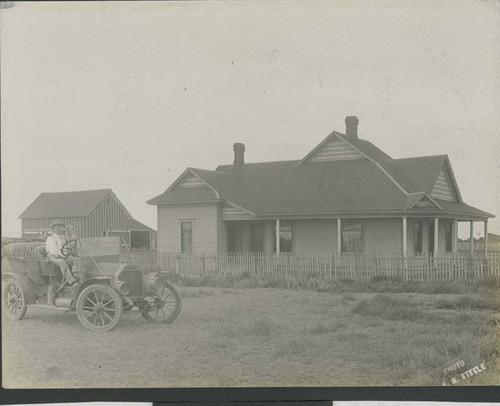 F. E. (Gene) Murphy and Merton Elliott, Sublette, Kansas