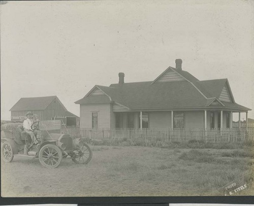 F. E. (Gene) Murphy and Merton Elliott, Sublette, Kansas - Page