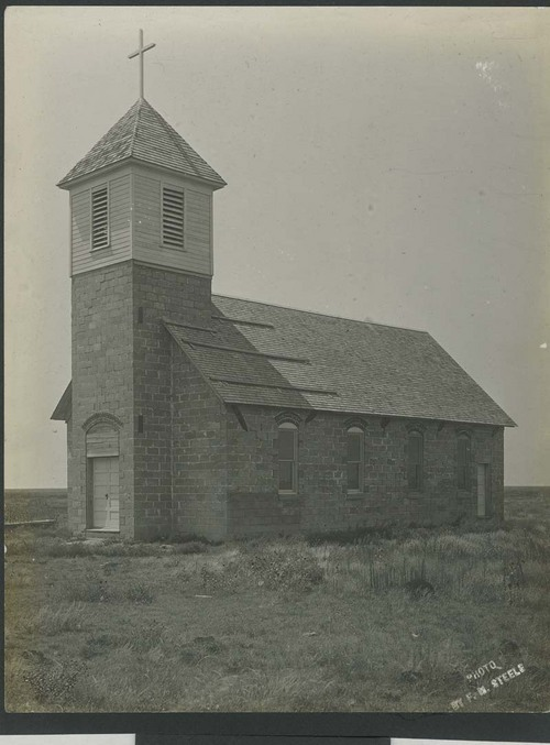 Stone church in Haskell County, Kansas - Page