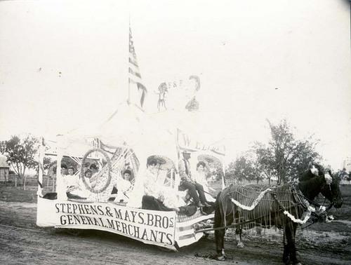 Parade float in Ashland, Kansas - Page