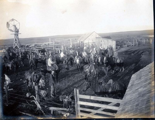 Frank Arnold's ranch near Ashland, Kansas - Page