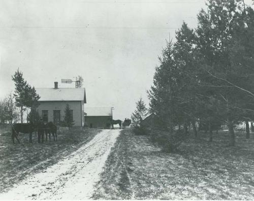 Farmhouse and farm buildings, Seward County, Kansas - Page