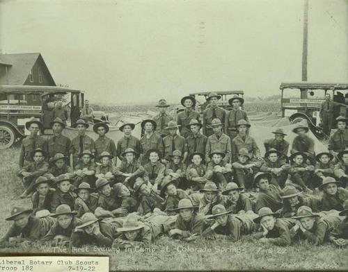 Liberal, Kansas, Boy Scouts in Colorado Springs, Colorado - Page