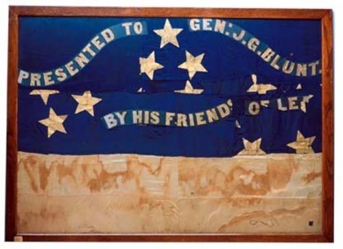 General James G. Blunt's flag - Page