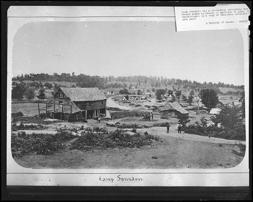 Camp Saunders, Kansas Territory - Page