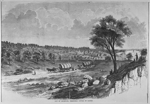 Lecompton,  Kansas Territory - Page