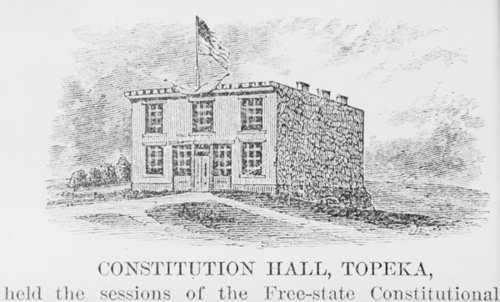 Constitution Hall, Topeka, Kansas Territory - Page