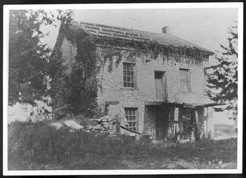Stone house built by Augustus Wattles - Page