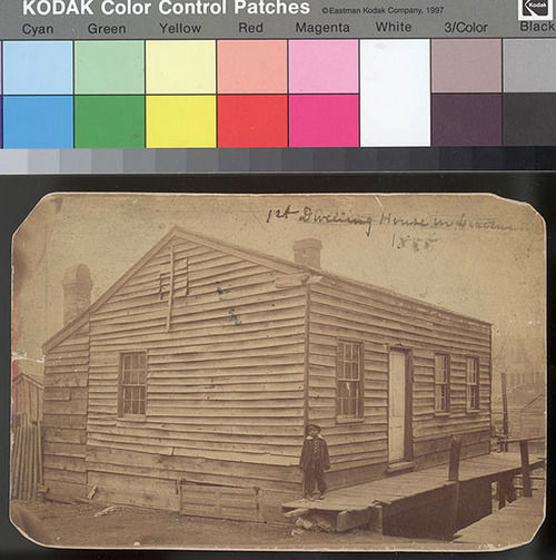 First house in Leavenworth, Kansas Territory - Page