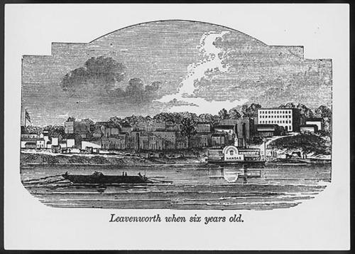 Leavenworth, Kansas Territory - Page