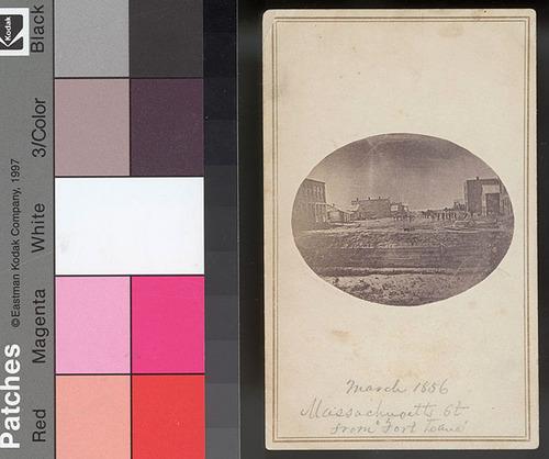 Massachusetts Street, Lawrence, Kansas Territory - Page