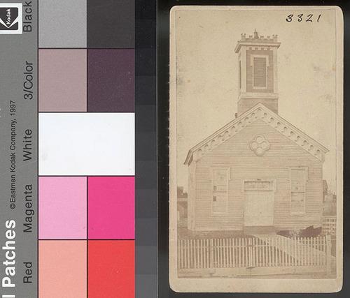 Methodist Church, Atchison, Kansas Territory - Page