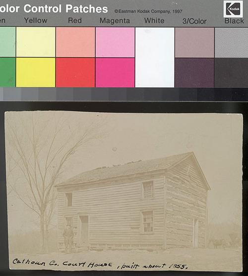 Courthouse, Calhoun County, Kansas Territory - Page