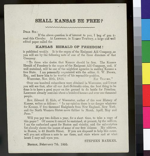 Shall Kansas be free? - Page