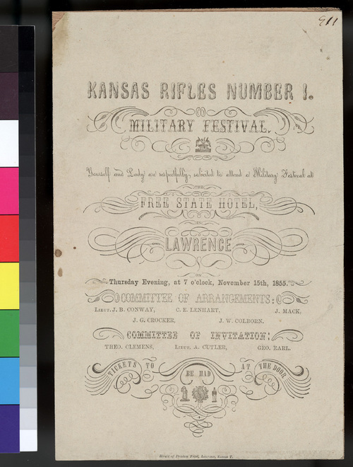 Kansas Rifles Number 1 Military Festival - Page