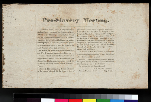 Proslavery Meeting - Page