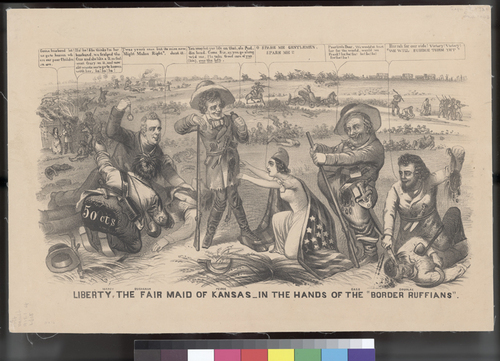 Liberty, the Fair Maid of Kansas, in the Hands of the Border Ruffians - Page