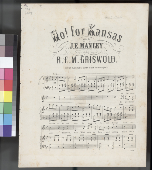 Ho! For Kansas sheet music - Page