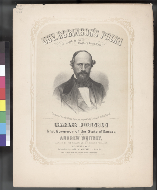 Sheet Music, Gov. Robinson's Polka - Page