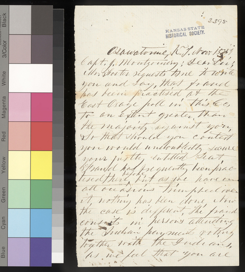 Charles E. Griffith to James Montgomery - Page