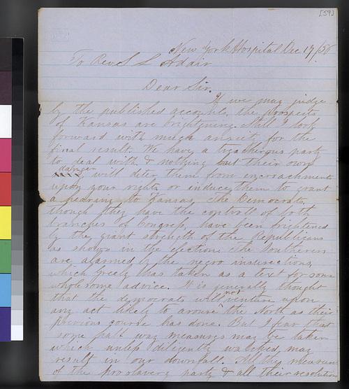 Barstow Darrach to Samuel L. Adair - Page