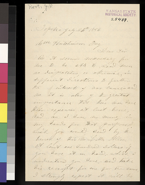 Joseph Pomeroy Root to William Hutchinson - Page