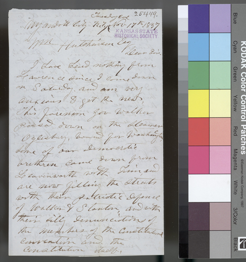 Joseph Root to William Hutchinson - Page