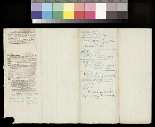 W. F. M. Arny to Thaddeus Hyatt - Page
